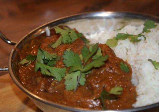 Beef Madras (HOT)