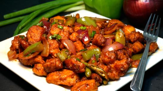 Madras Chilli Chicken (HOT)
