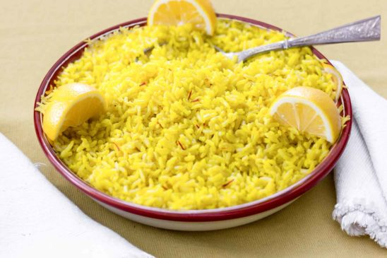 Saffron-Flavoured Basmati Rice