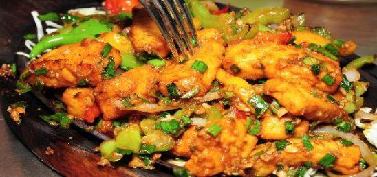 Paneer or Mushroom Chilli Milli